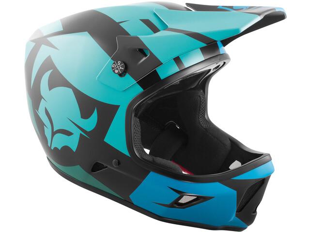 TSG Advance Graphic Design Fietshelm Heren blauw/turquoise